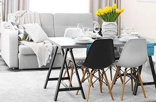 Jakou velikost jídelního stolu potřebujete?