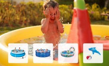 Přehled nejžádanějších bazénů a vodních hraček