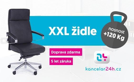 Kancelářské židle a křesla se zvýšenou nosností