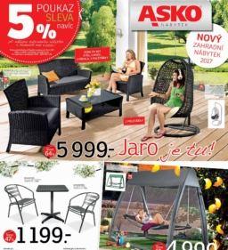 Nový zahradní nábytek Asko