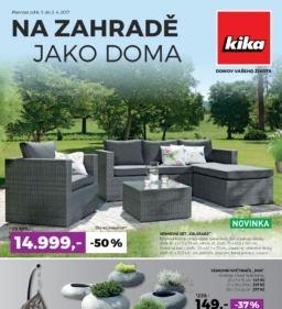 Kika leták – Zahradní nábytek