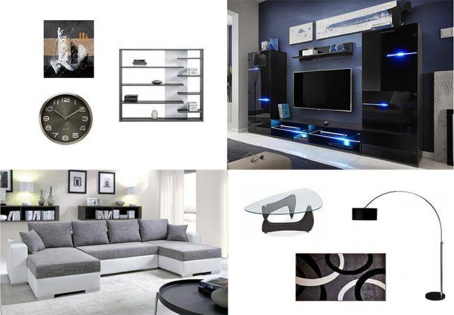 Luxusní obývací sestava